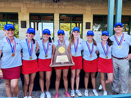Girls Golf State Champs 2018